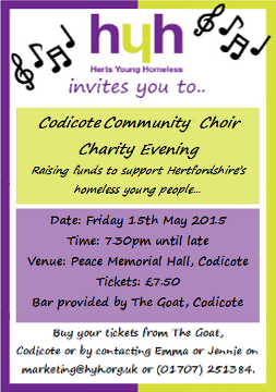 Codicote Community Choir