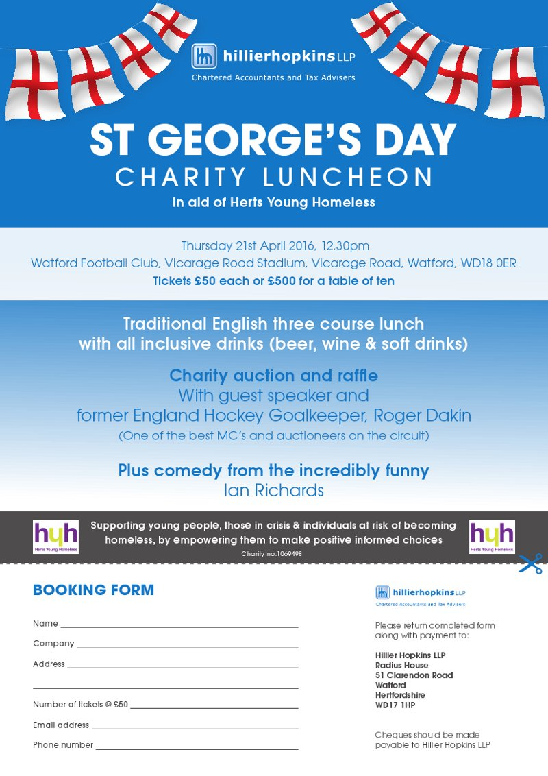 St Georges Day Luncheon